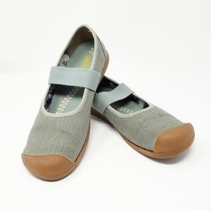 KEEN Sienna Canvas Mary Jane flats shoes